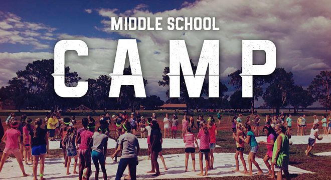 2018 Middle School Camp